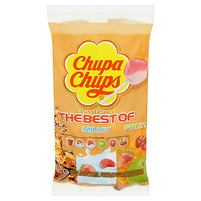 Chupa Chups Canada 120ct Cherry Elite Best Of Milky Fruit From Spain