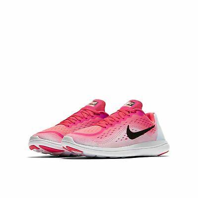 6c29f0ef9a244 Girls Nike Flex 2017 RN (GS) 904252-600 Racer Pink NEW Size 5Y