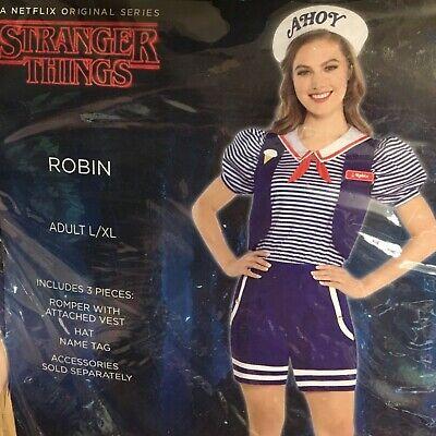 Robin Scoops Ahoy Halloween Costume Stranger Things size women's Large/XL - Robin Womens Kostüm