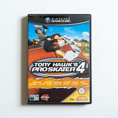 Tony Hawk's Pro Skater 4 (Nintendo GameCube, 2002) - PAL UK with Manual
