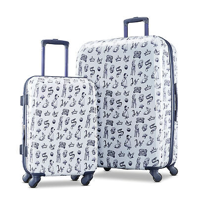 disney snow white 2 piece set luggage