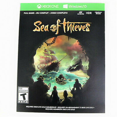 Sea of Thieves Full Game DIGITAL CODE CARD Microsoft Xbox One / Windows 10 PC
