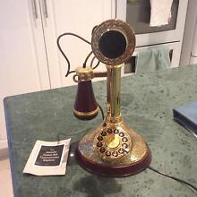 Franklin Mint Alexander Graham Bell Commemorative Stick Phone Mona Vale Pittwater Area Preview