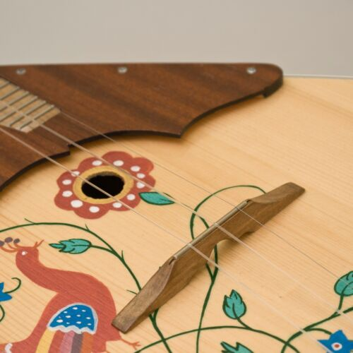 Wooden bridge with fret for Balalaika, Domra Original Russian Balalayka Handmade