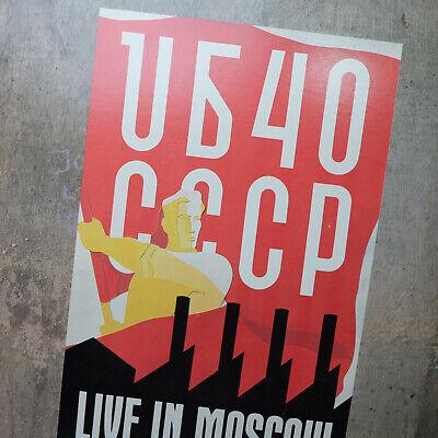 1986 UB40 – CCCP Live In Moscow Record Vinyl LP – SP 5168 – EX/VG+, usado comprar usado  Enviando para Brazil
