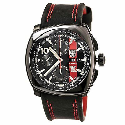 NEW Luminox Tony Kanaan Swiss Automatic Chronograph Leather Strap Watch - 1181
