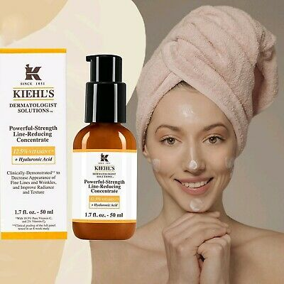 Kiehl's Powerful-Strength Line-Reducing Concentrate Vitamin C - 1.7oz/50ml Real