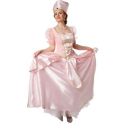 Kostümen Filme (Damen Kostüm Prinzessin Dornröschen elegantes Kleid Königin Film Karneval)