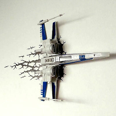 Night Light Star Wars X-Wing Alliance Decoration LED Lamp Christmas Gift Toy