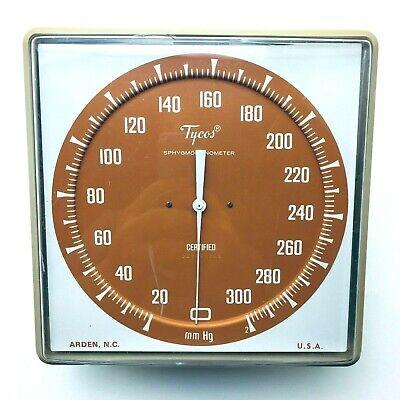 Tycos Blood Pressure Sphygmomanometer Gauge Wall Mount