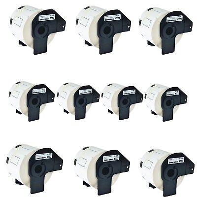 10roll Dk-1209 Dk1209 Address Labels For Brother Ql-580n Ql-650td Ql-700 Printer