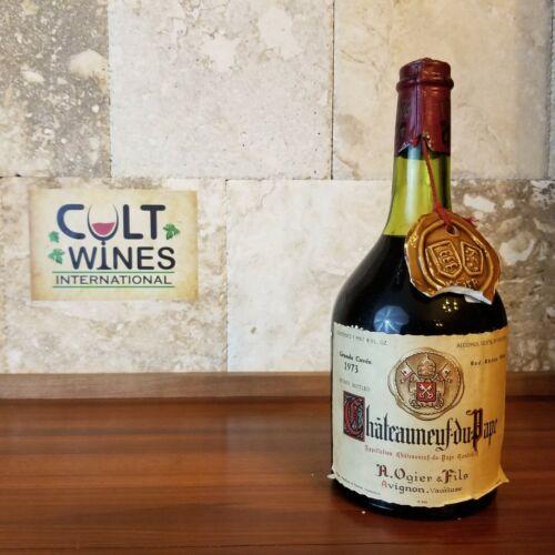 1973 A. Ogier & Fils Chateauneuf-du-pape wine, Rhone