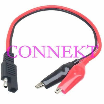 XT60 Female to 80mm Alligator clip 14AWG 1FT Battery charger cable