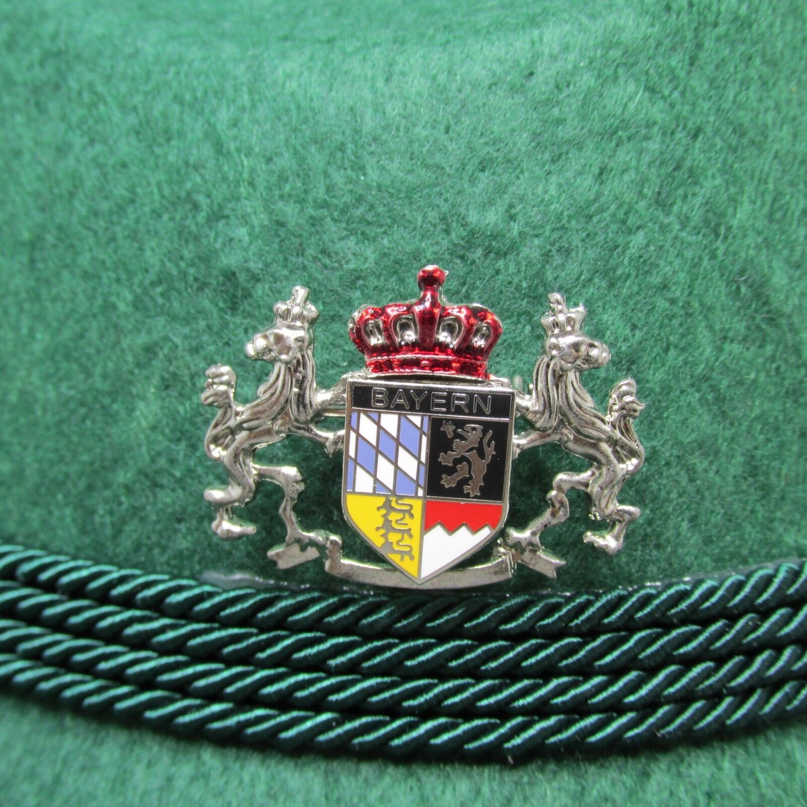 Bavarian Crest with Lions & Crown Oktoberfest Hat Pin