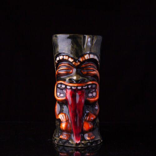 "Ceramic tiki mug ""Idol Tongue"", Original Barware"