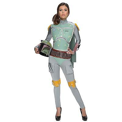 Star Wars Boba Fett Female Adult Women's Sexy Halloween Costume](Female Star Wars Costumes)