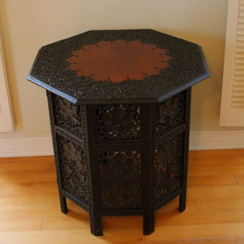 Antique Chinese Carved Side Table