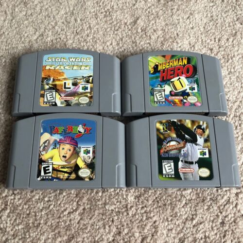 Nintendo 64 Games Mixed Lot (TESTED)