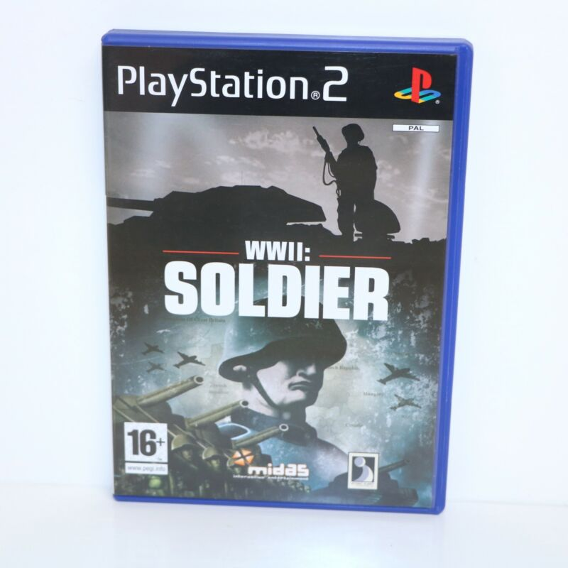 WWII+SOLDIER+-+SONY+PLAYSTATION+2+PS2+PSTWO+GAME+-+NEW