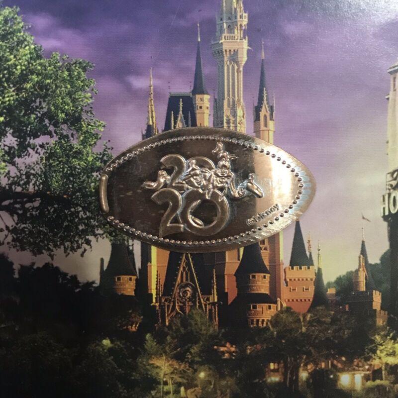 RETIRED Disney World Smashed Pressed Elongated Penny 2020 Goofy Magic Kingdom