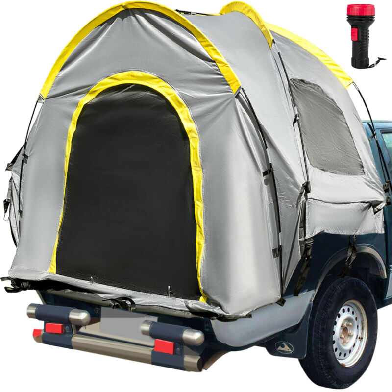 VEVOR Truck Tent Truck Bed Tent 5.5ft Pickup Tent Waterproof for Full Size Truck