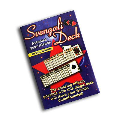 1053 Svengali Deck, Trick Kartenspiel Zauberkarten Zaubertricks für Anfänger (Anfänger Zaubertricks)