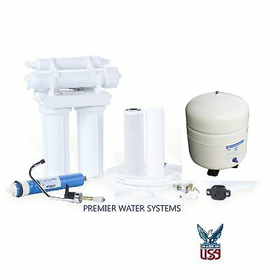 Home Pure REVERSE OSMOSIS DRINKING WATER FILTERS SYSTEM 4 STAGE 100 GPD Pure Drinking Water Systems