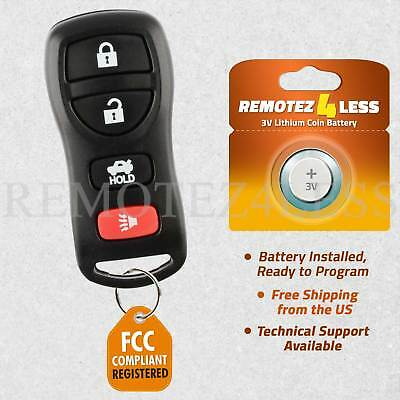 Replacement for Nissan Infiniti Keyless Entry Remote Car Key Fob 4b