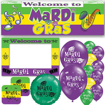 ns Carnival Parade Celebration Decorations Party Supplies (Mardi Gra Party Supplies)