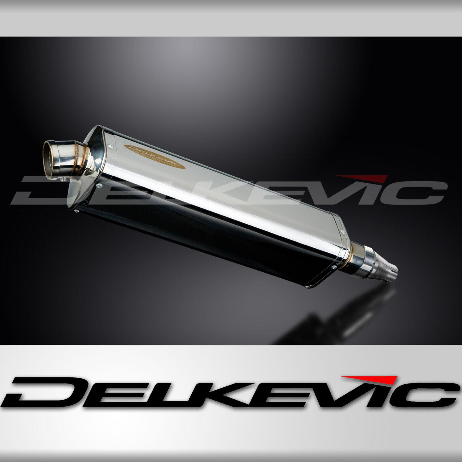 """Suzuki V-Strom 1000 18/"""" Stainless Steel Oval Muffler Exhaust Slip On 14 15 16 18"""