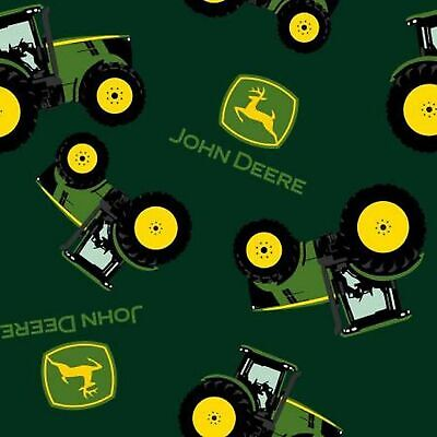 John Deere Tractor Toss-Springs Industries-BTY