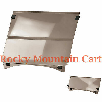 Club Car Precedent Golf Cart Tinted Acrylic Folding Windshield - Free Freight