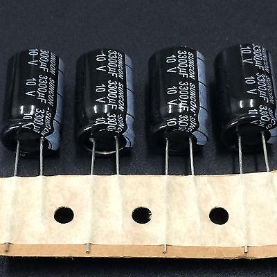 100pcs 10v 3300uf 10v Suncon Sanyo Hc 12.5x20 Standard Electrolytic Capacitor