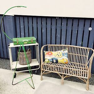 Folding trolley, case basket, old suitcase Carina Brisbane South East Preview