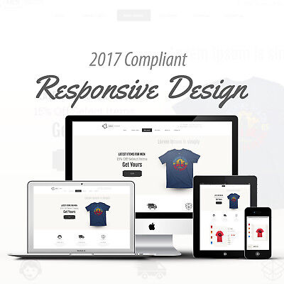 2017 Compliant Mobile Responsive Ebay Auction Listing Template Pick T-Shirt