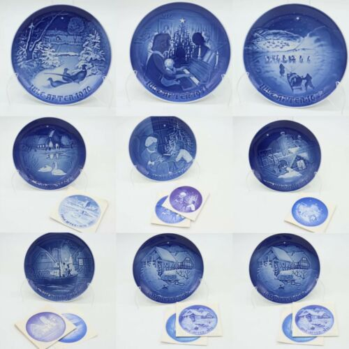BING And GRONDAHL CHRISTMAS COLLECTOR PLATE Replacement - CHOOSE YOUR YEAR