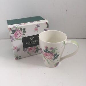 Gleneagles Fine China Rose / Floral Design Tea/Coffee Mug Cup New In Box