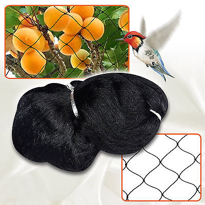 Bird Netting 50x50 Net Netting For Poultry Avaiary Game Pens 2x2 Black Mesh