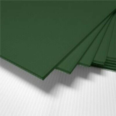 4 Pack 4mm Green 24 X 48 Vertical Corrugated Plastic Coroplast Sheets Sign
