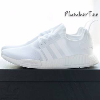US 9.5 | US 10 Brand New Adidas Original NMD R1 All White