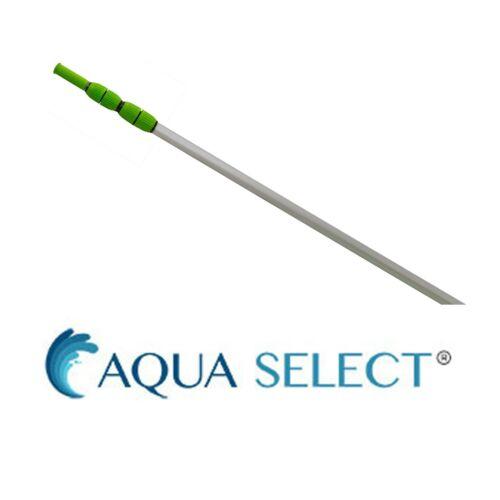 Aqua Select EZ-Clip Swimming Pool Vacuum Pole w/ Rubber Grip - (Choose Size)
