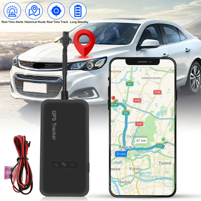 Car GPS Tracker GSM GPRS Real Time Tracking Locator Device for Motorcycle Bike