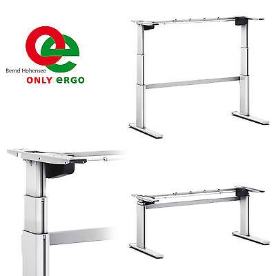 tischgestell ergonomischer schreibtisch elektrisch elektronisch hohenverstellbar. Black Bedroom Furniture Sets. Home Design Ideas