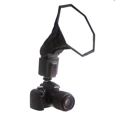 "Phot-R 8"" 20cm Octagonal Octagon Softbox Diffuser Flashgun Speedlite Speedlight"