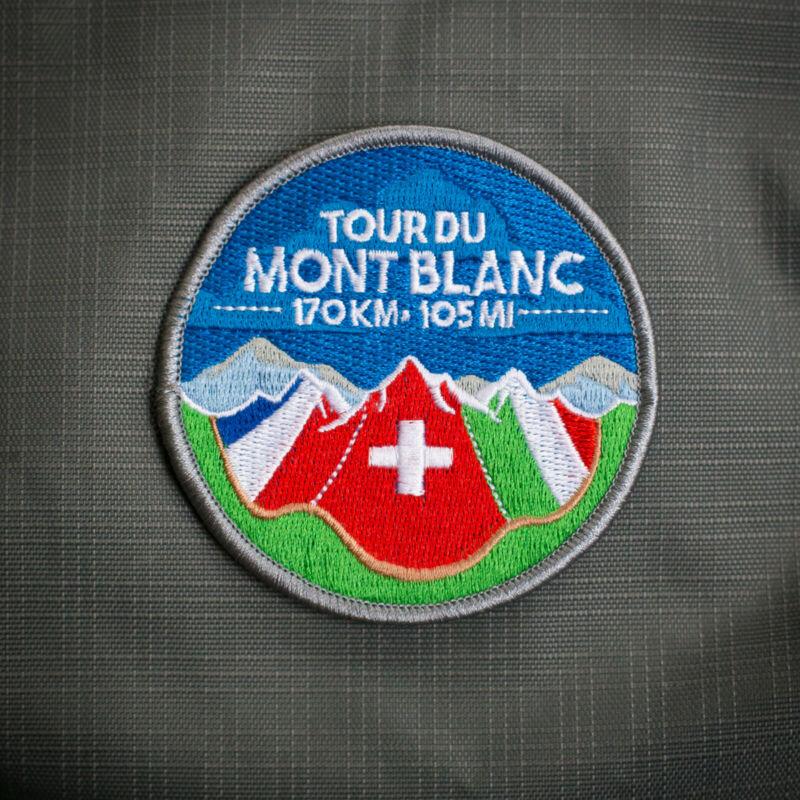 Tour du Mont Blanc Patch – TMB Patch