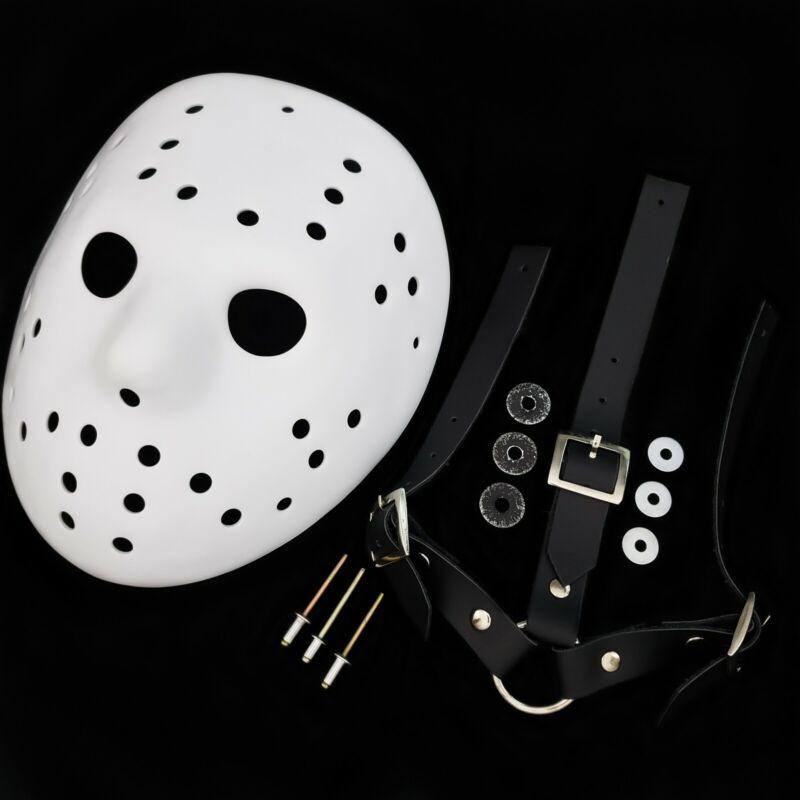 Mask Freddy vs Jason  Blank Precut + Straps Friday the 13th Jason Voorhees