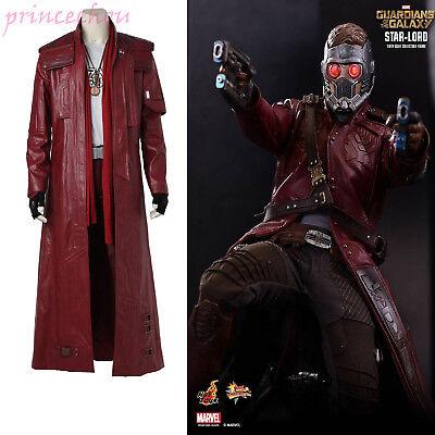 MarvelGuardiansoftheGalaxyⅡStarLordPeterJasonQuill Cosplay Kostüme Top