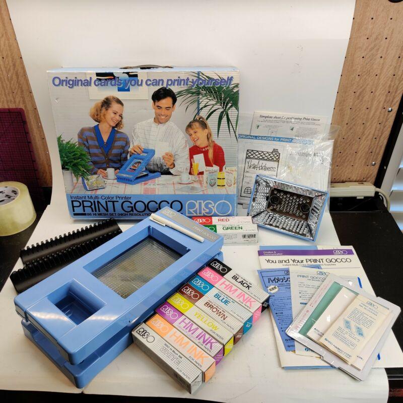 Riso Gocco DIY Instant Multi-Color Printer B6 Hi Mesh (Resolution) Set (No Bulb)