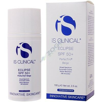 iS Clinical Eclipse SPF 50+ PerfecTint Beige 3.5 oz - New in Box