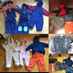 Kids Jackets, coats, vests and snow suits